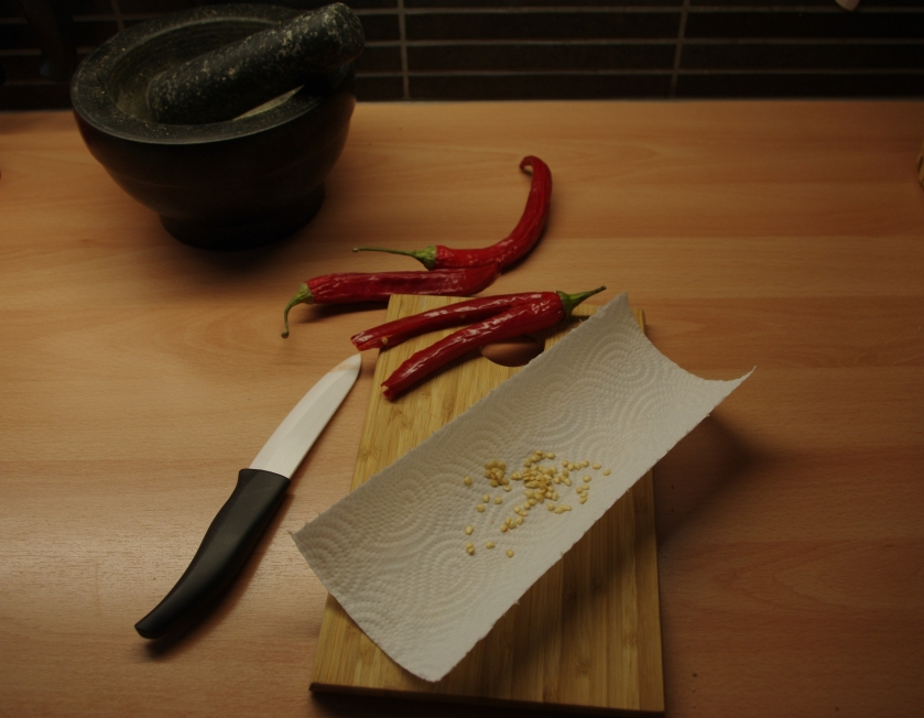 Chilin siemenet